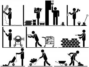 shutterstockRubble & the Rock workers_